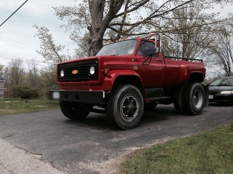 Chevy C70 Chevy Trucks Gmc Trucks Heavy Duty Trucks