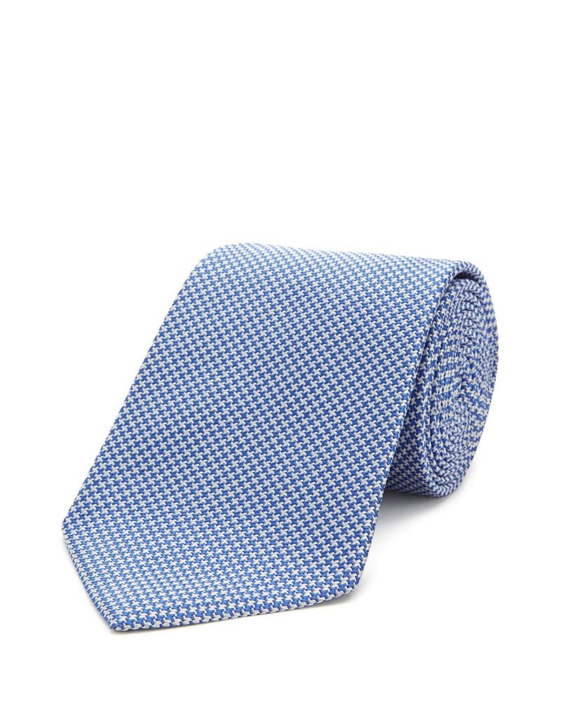 190.00$  Watch now - http://vizog.justgood.pw/vig/item.php?t=fa3i9h3286 - Turnbull & Asser Basic Houndstooth Classic Tie 190.00$