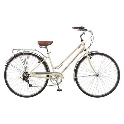 Schwinn Womens Gateway 28 700c Hybrid Bike Cream Hybrid Bike Schwinn Bike Hybrid Bicycle