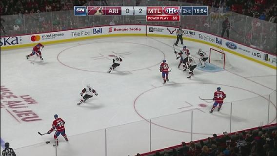 Official Site of the National Hockey League | NHL.com Webers first goal for the Canadians.  Oct. 20, 2016