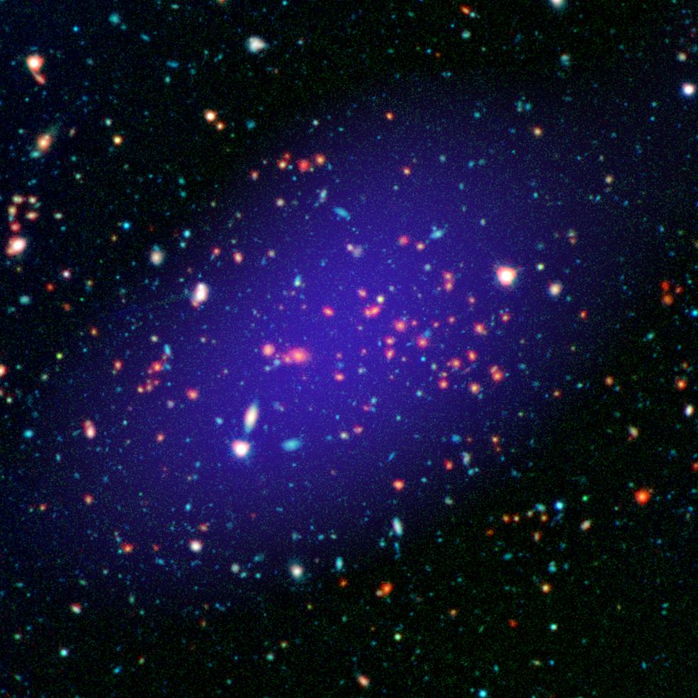A MOO J1142+1527 está a 8,5 bilhões de anos-luz de nós