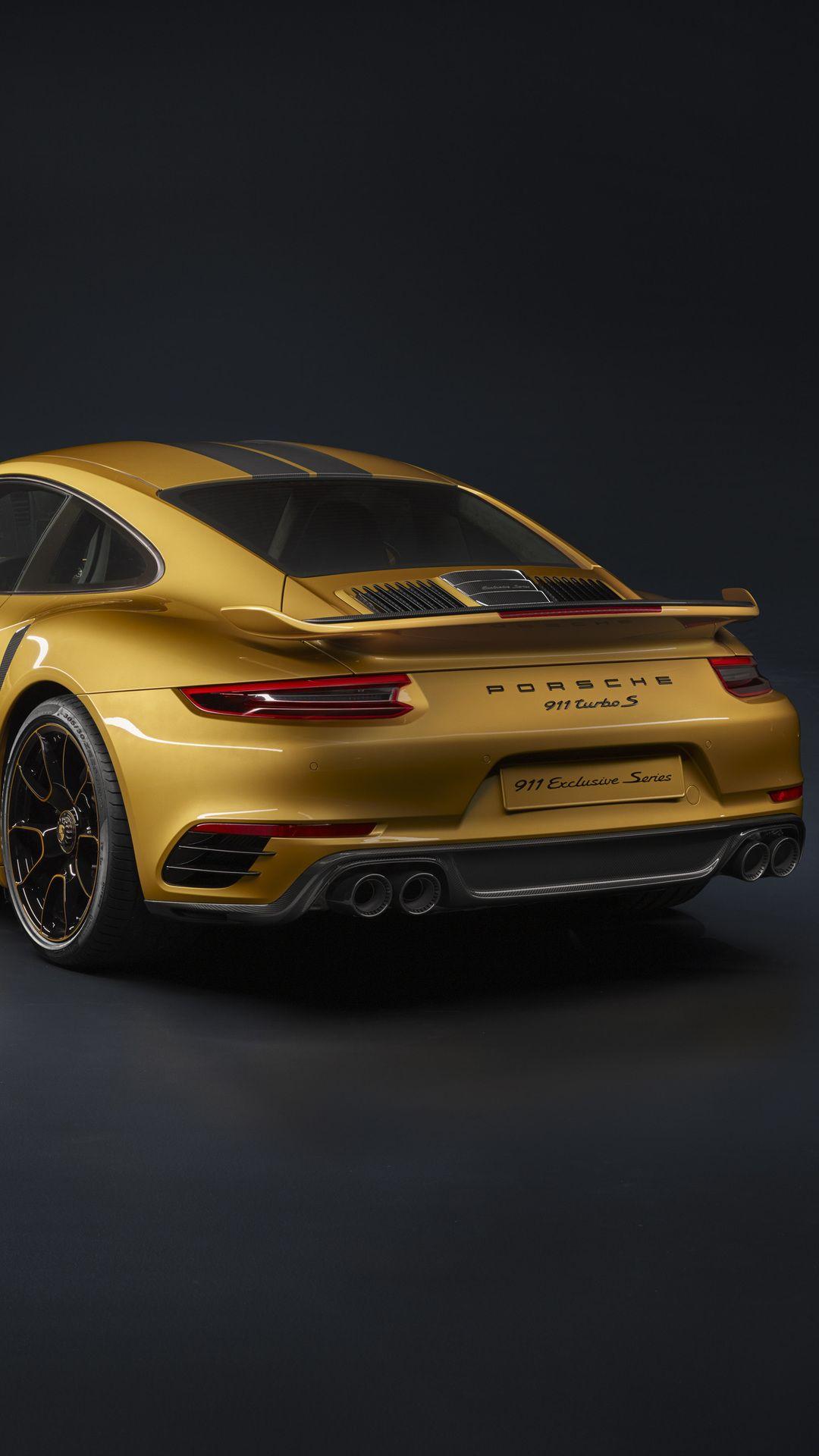 Porsche 911 Turbo S Exclusive Series Porsche 911 Turbo Super Luxury Cars Porsche Sports Car