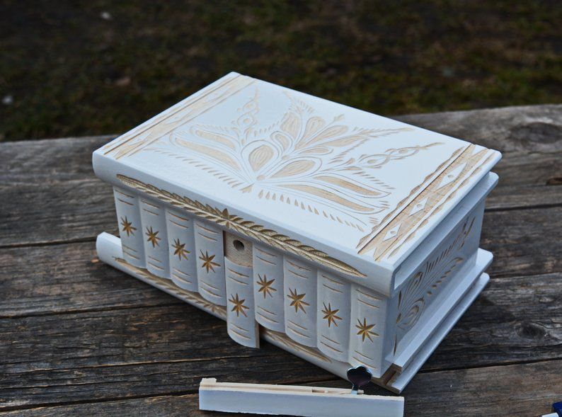 This item is unavailable Secret stash boxes, Wooden