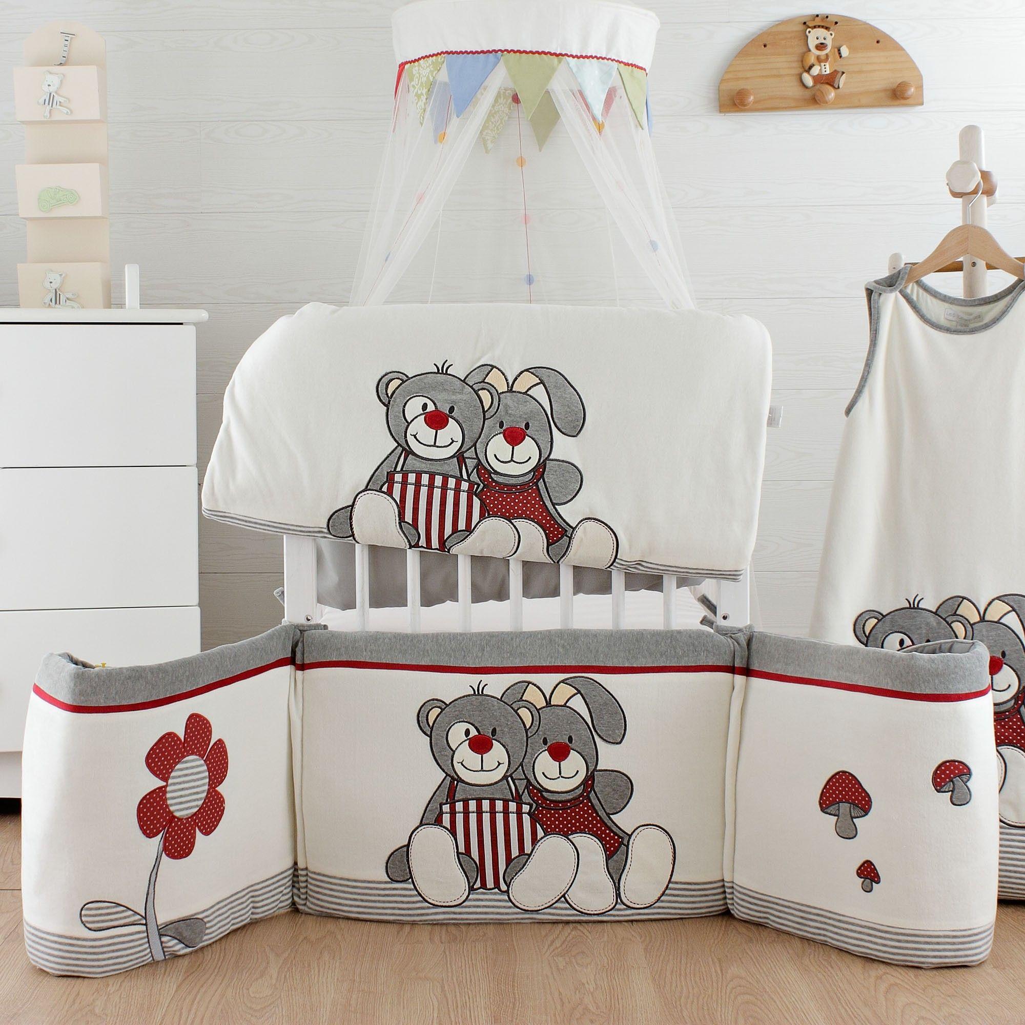 tour de lit bébé mixte Nestchen