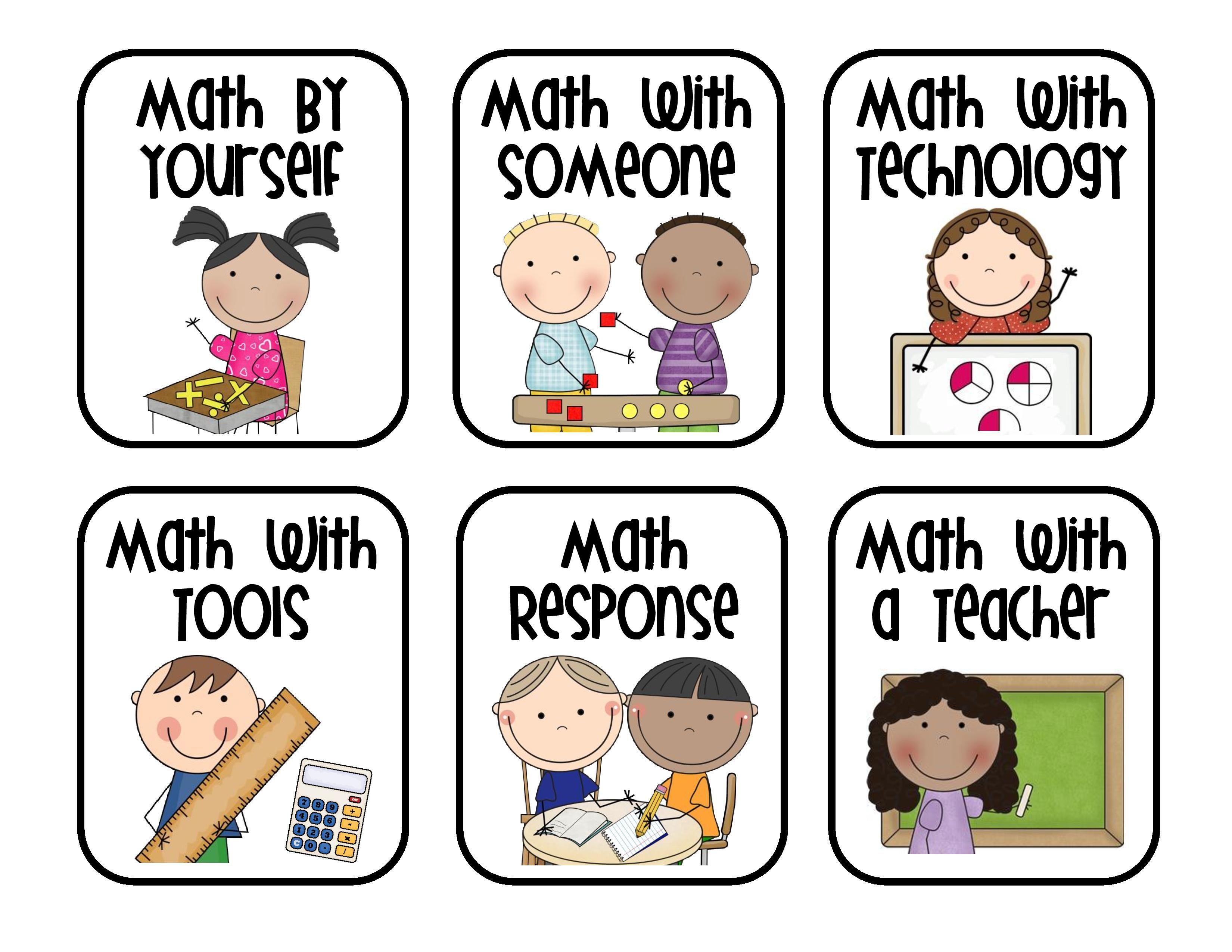 Teacherspayteachers Product Math Labels For
