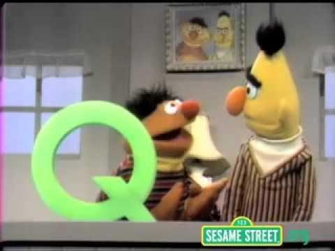 Sesame Street Letter Q Alphabet Letter Q Pinterest