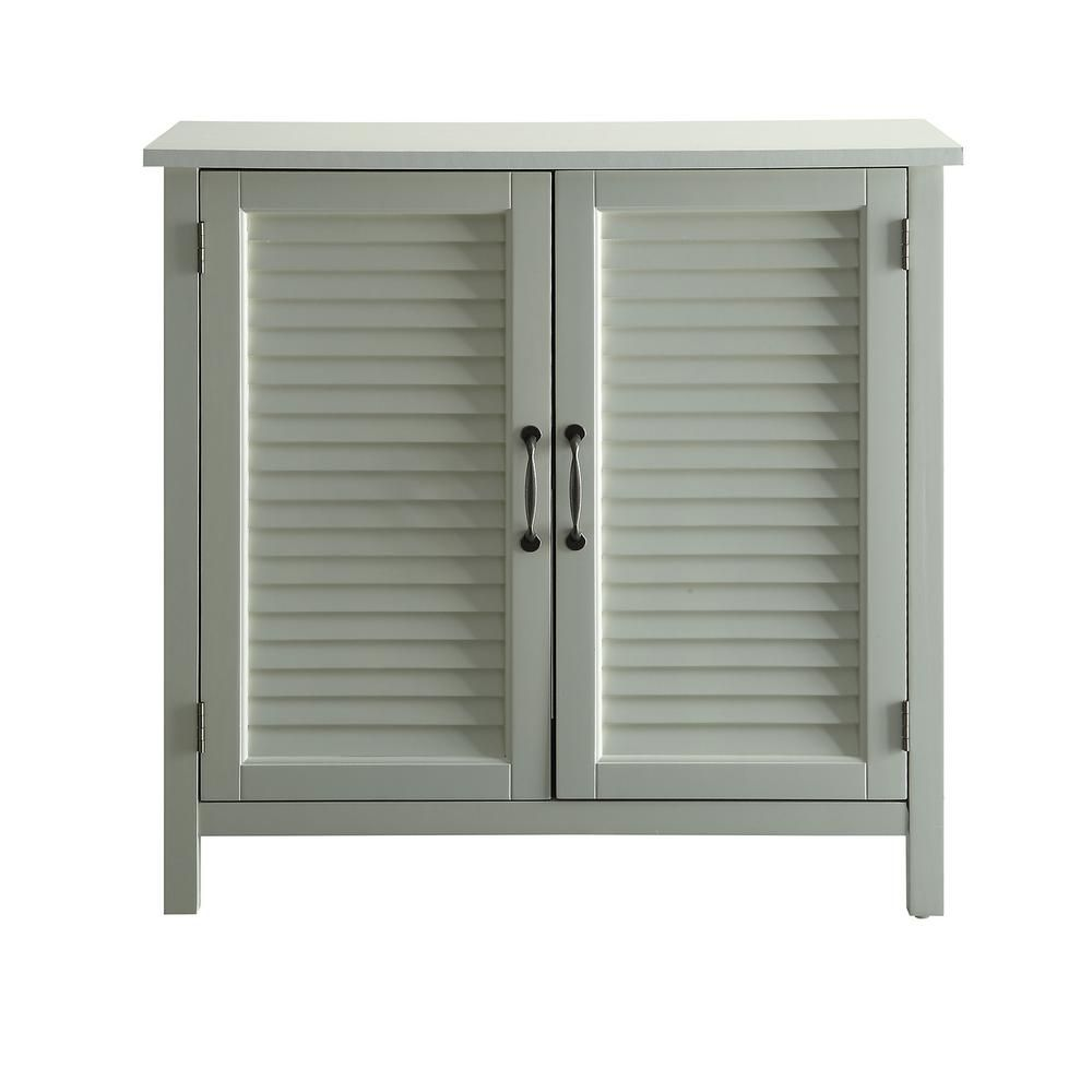 Urban Style Living Olivia White Accent Cabinet 2 Shutter Doors Sk19087c5 Pw Urban Style Living Accent Doors Stylish Cabinet