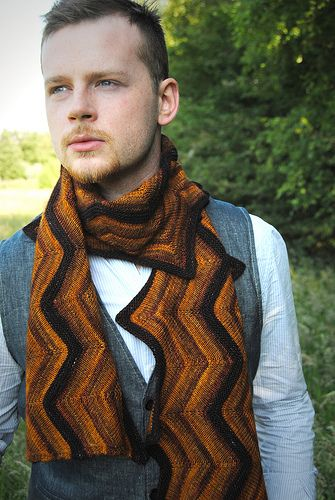 Ravelry: Creekbed scarf pattern by Stephen West
