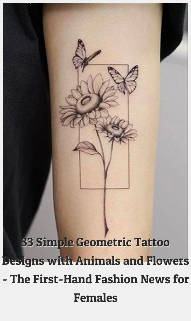 , Geometric Tattoos 77501 33 Simple Geometric Tattoo Designs with Animals and Flowers – The First-Hand Fashion News for Females, My Tattoo Blog 2020, My Tattoo Blog 2020