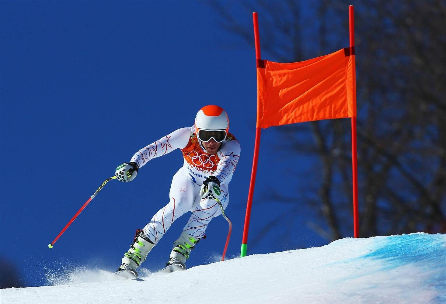 Bode Miller at the Winter Olympics in Sochi Russia