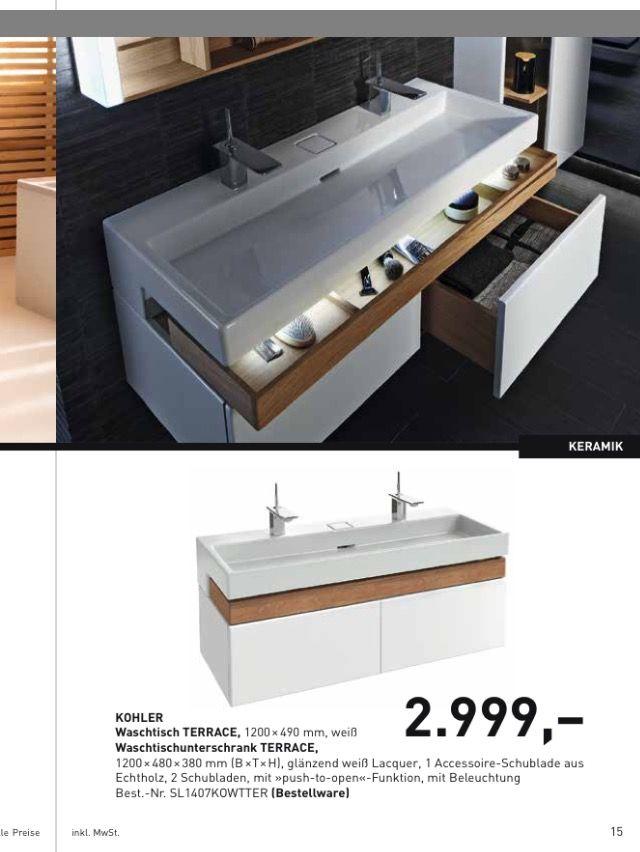 Kohler Waschtisch Terrace | bathrooms | Pinterest | {Waschtischplatte mit schublade 87}