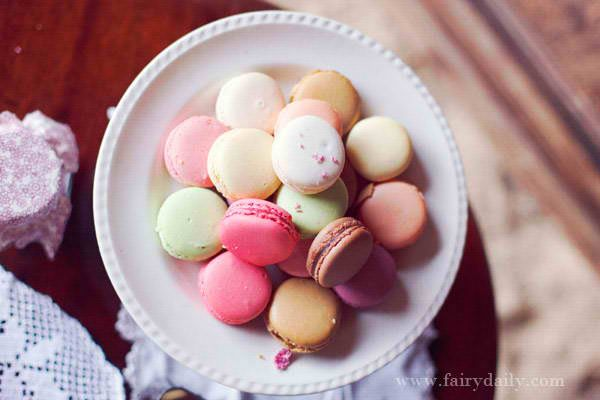 Any Parisian feast will not be complete without the traditional French macarons.