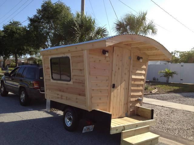 gypsy vardo campers vardo camper trailer homemade. Black Bedroom Furniture Sets. Home Design Ideas