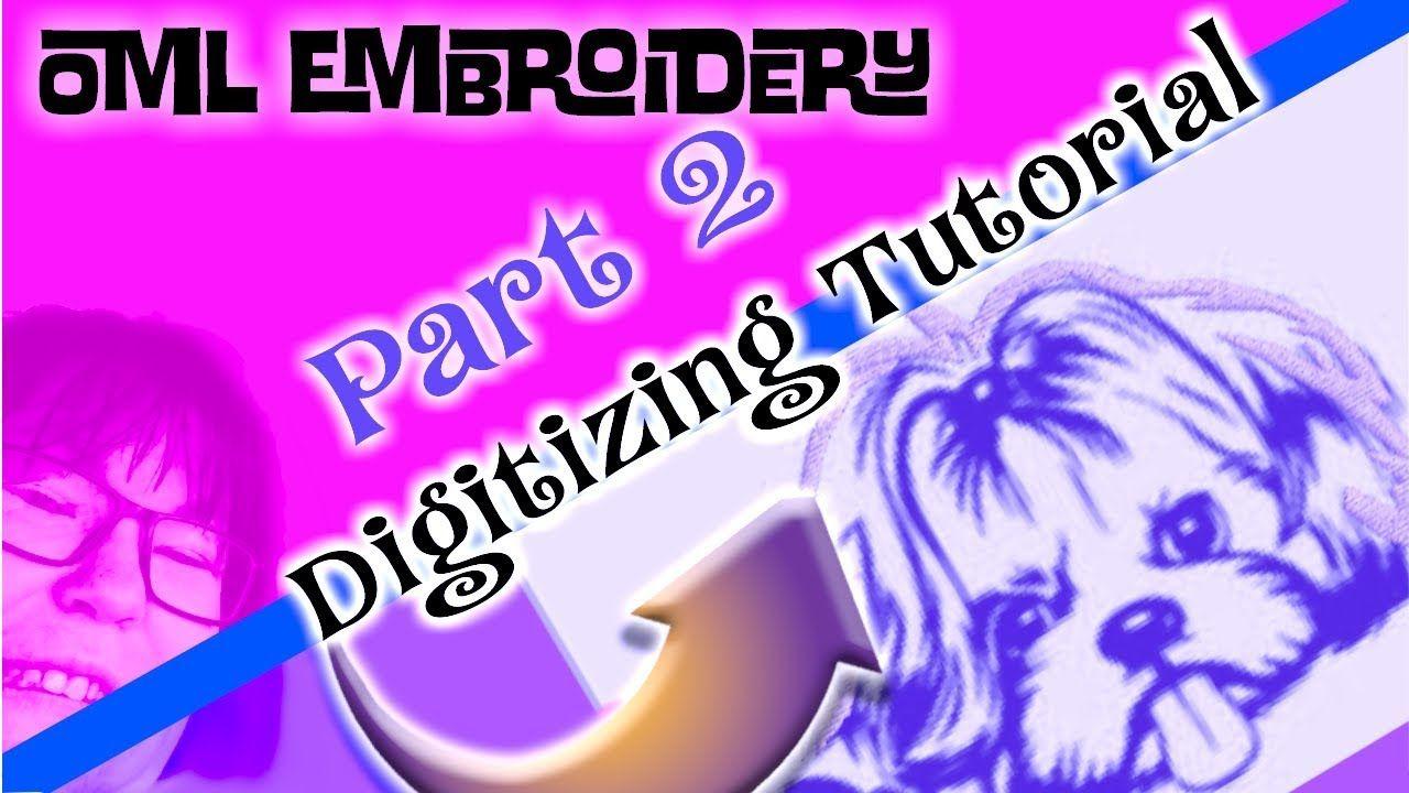 Wilcom Hatch Embroidery Software 2: more dog digitizing