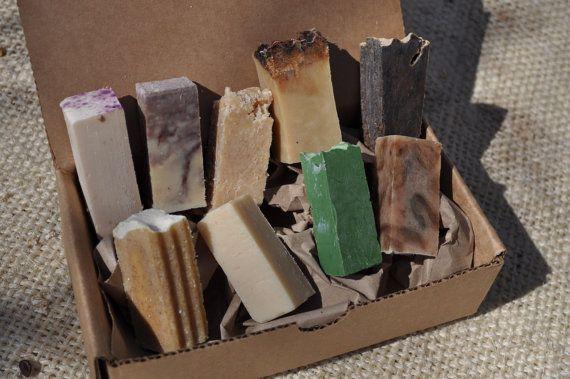 Soap Sampler Box Handmade Soap by MadisonSoapCompany on Etsy