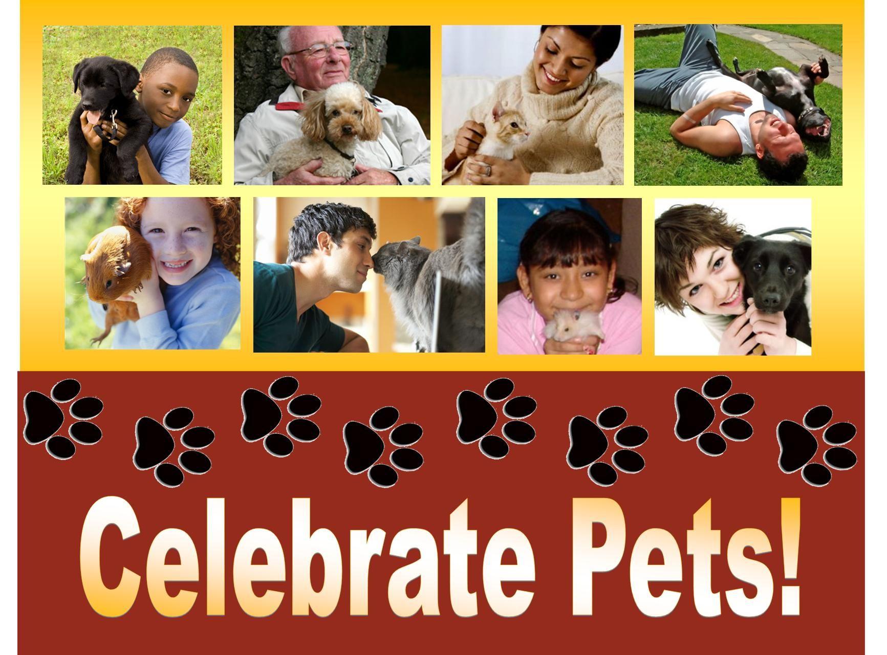 Celebrate pets in books