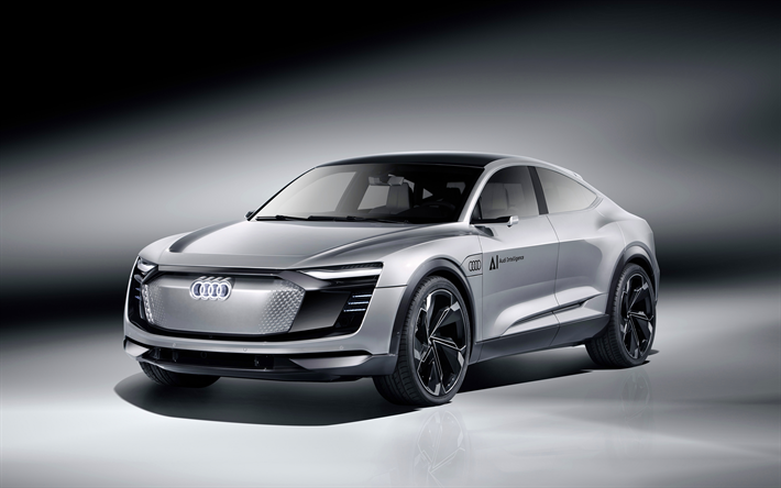 Download Wallpapers Audi Elaine Cars K Electric Cars - Audi car video download