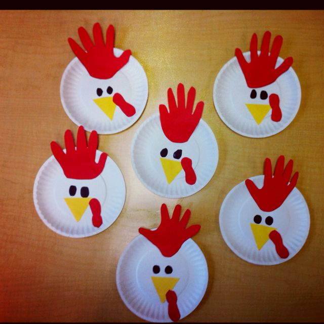 Roosters We Made Today For Farm Week Love Them Kindergarten
