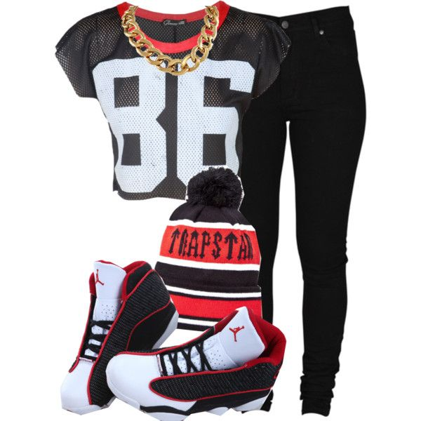 Trapstar By Cheerstostyle On Polyvore Outfits My Style Pinterest Discount Jordans