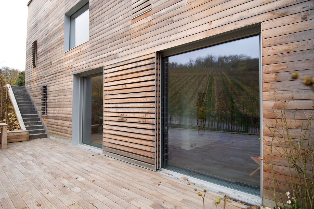 Timber Clad Hidden Pocket Sliding Doors Kitchen Pinterest