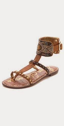 Gabrianna Ankle Cuff Sandals.