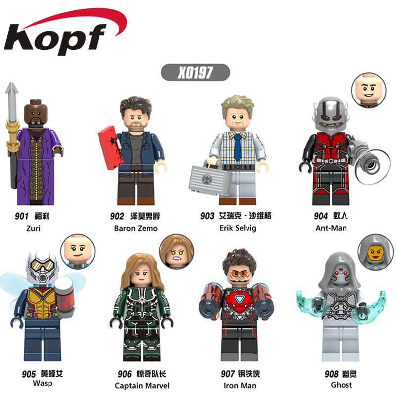 Erik Selvig Mini figure Avengers Thor