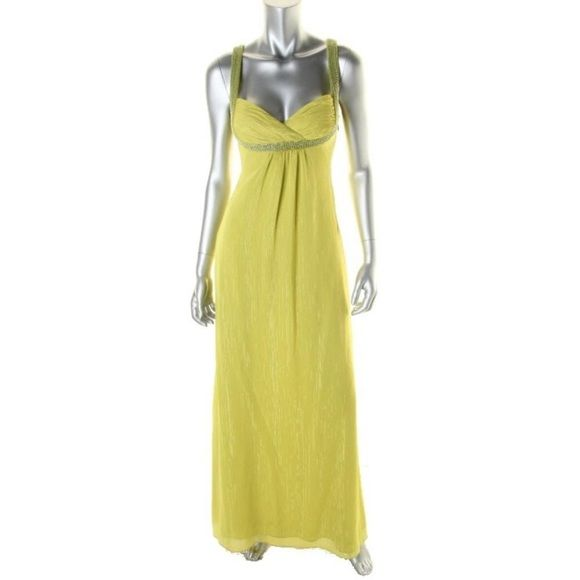 NWT Formal/Prom Dress.  Lime Green New with Tags.  Gorgeous Formal.  Floor length.  Size 8 Guess by Marciano Dresses Prom