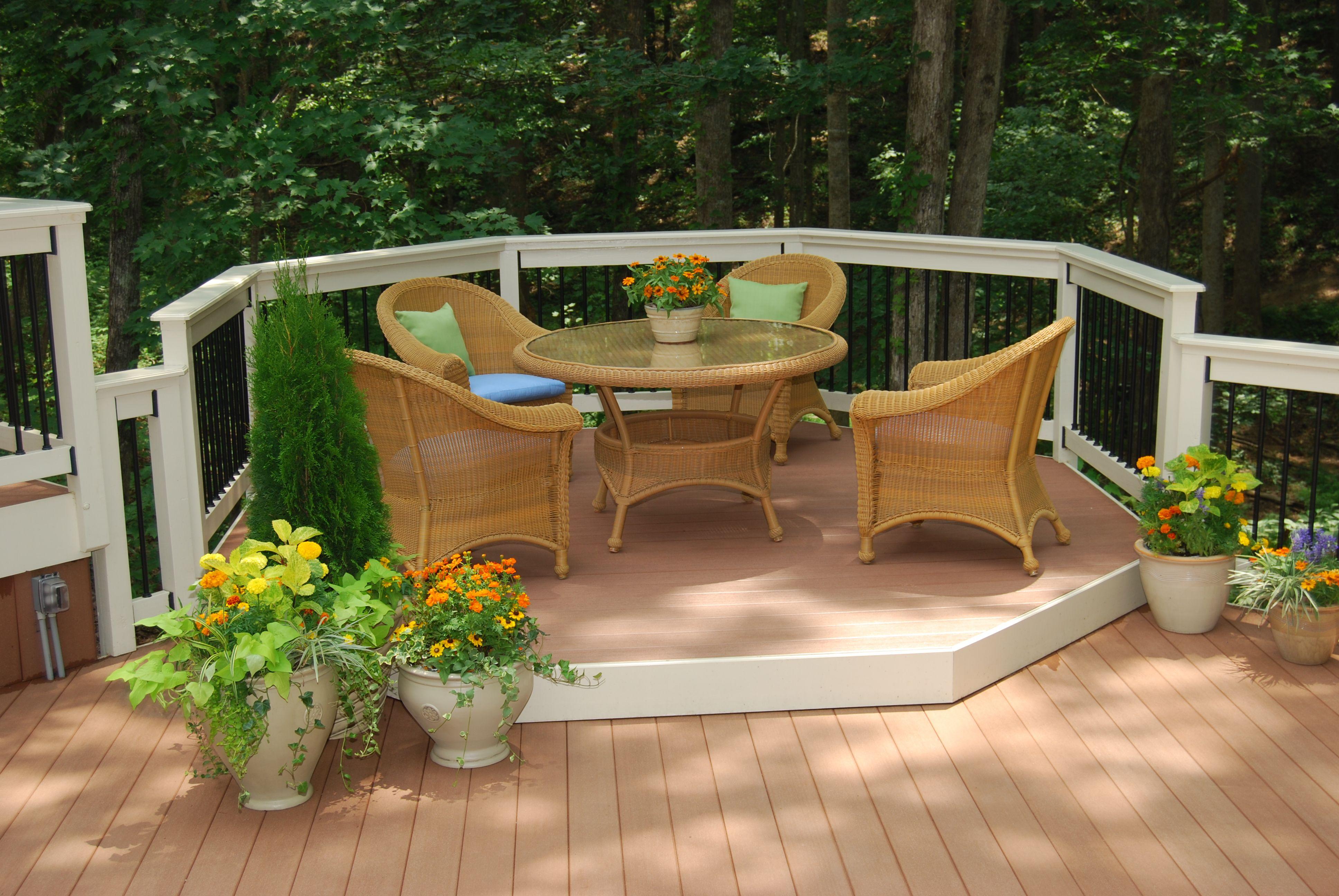 Beautifully simple elegance outdoors decks pinterest simple