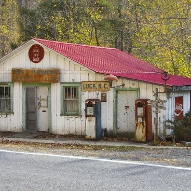Old country store in North Carolina