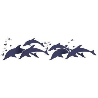 Трафарет Дельфины   Дельфины, Рисунки, Трафареты