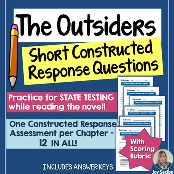 The Outsider Short Constructed Response Question Common Core Thi Or That Questions Essay And Answers