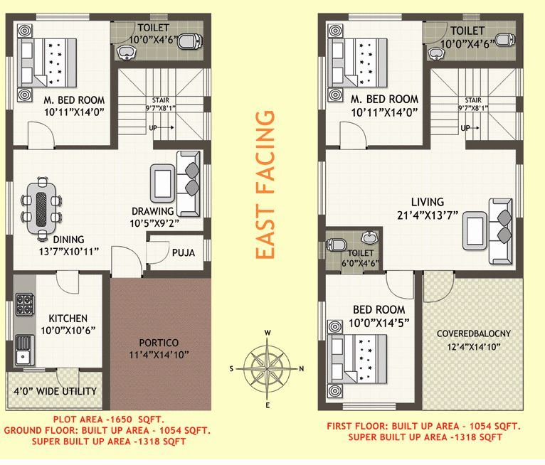 ideas for 30x40 house plans east facing ground floor in