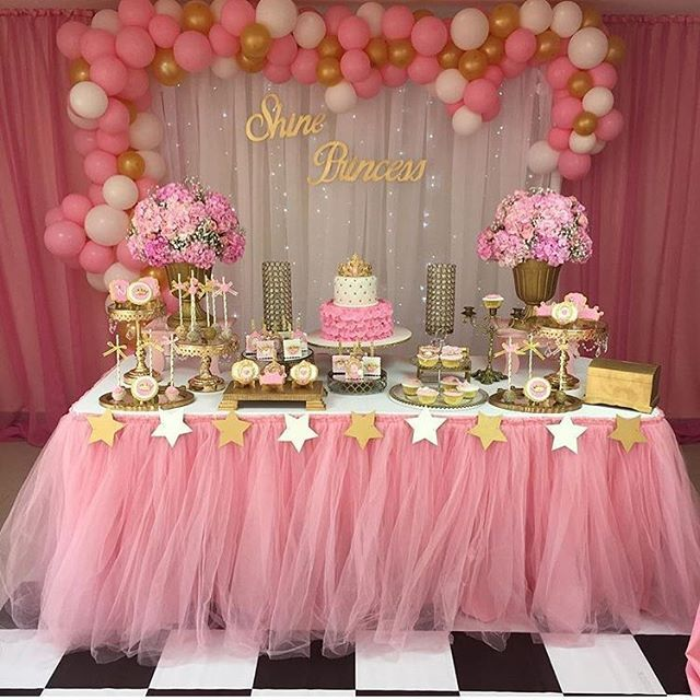 Home Baby Shower Princess Birthday Parties Baby First Birthday