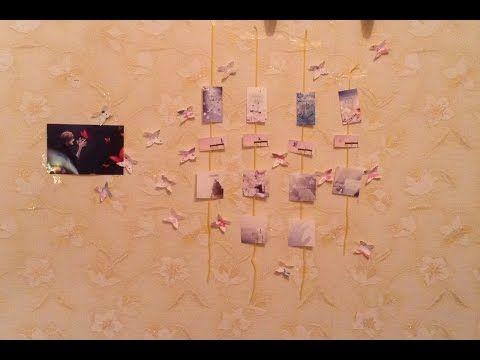 K-POP D.I.Y|BTS BUTTERFLY ROOM DECOR - YouTube