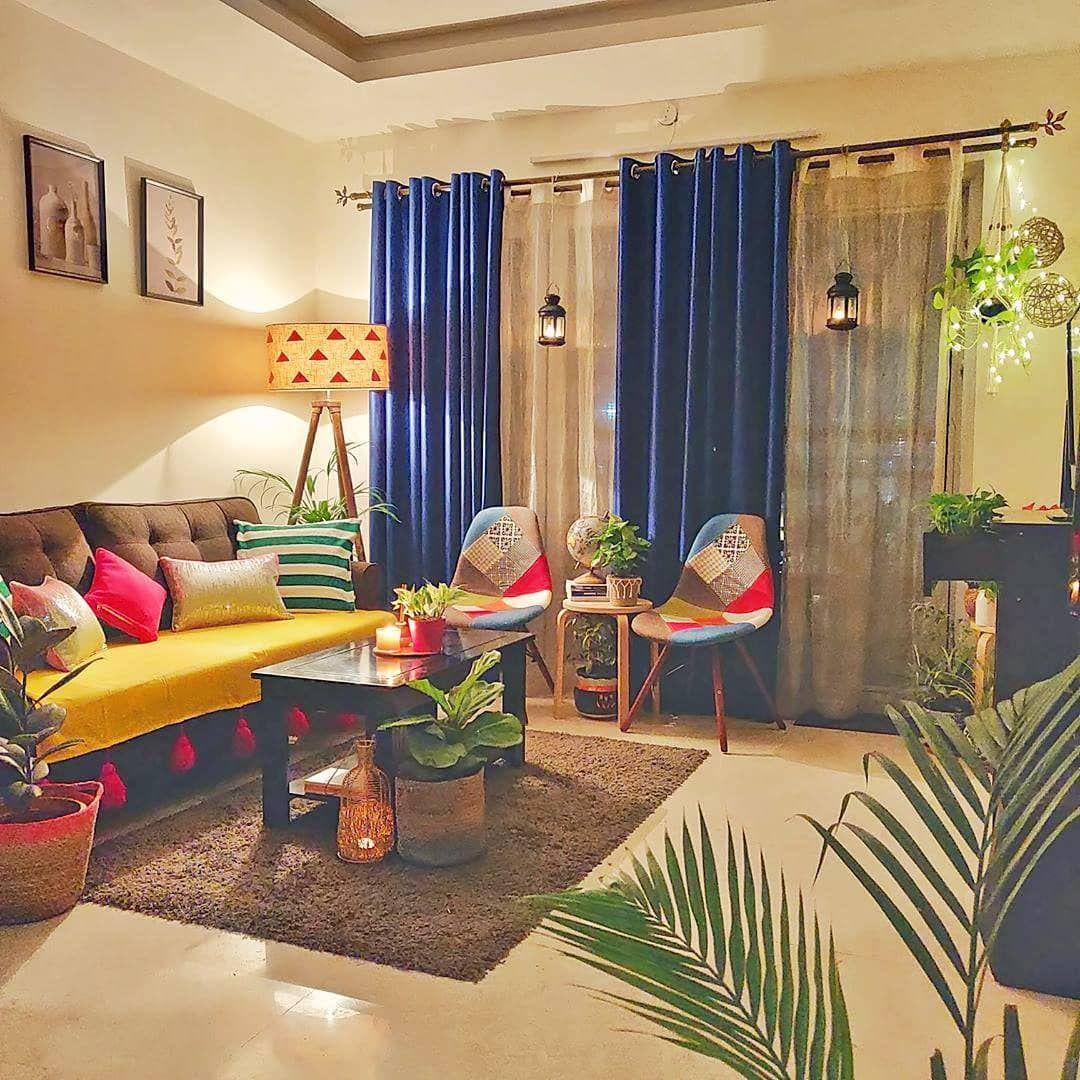 Dishawalidiwali These Pictures Of Sonakshi S Festive Ready Home Are Inspiring Me To Colourful Living Room Decor Indian Room Decor Living Room Decor Apartment