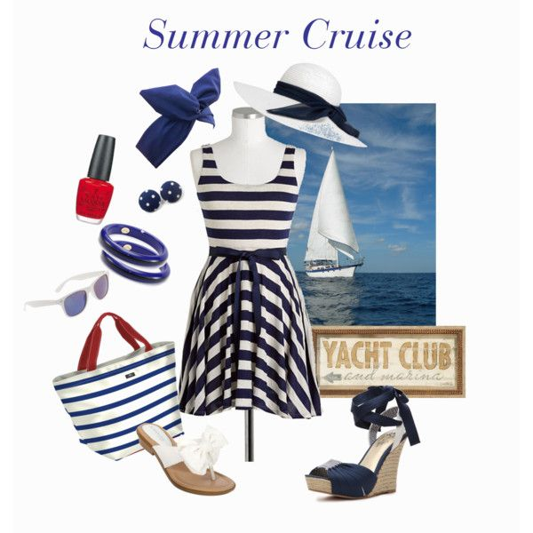 Nautical summer cruise outfit