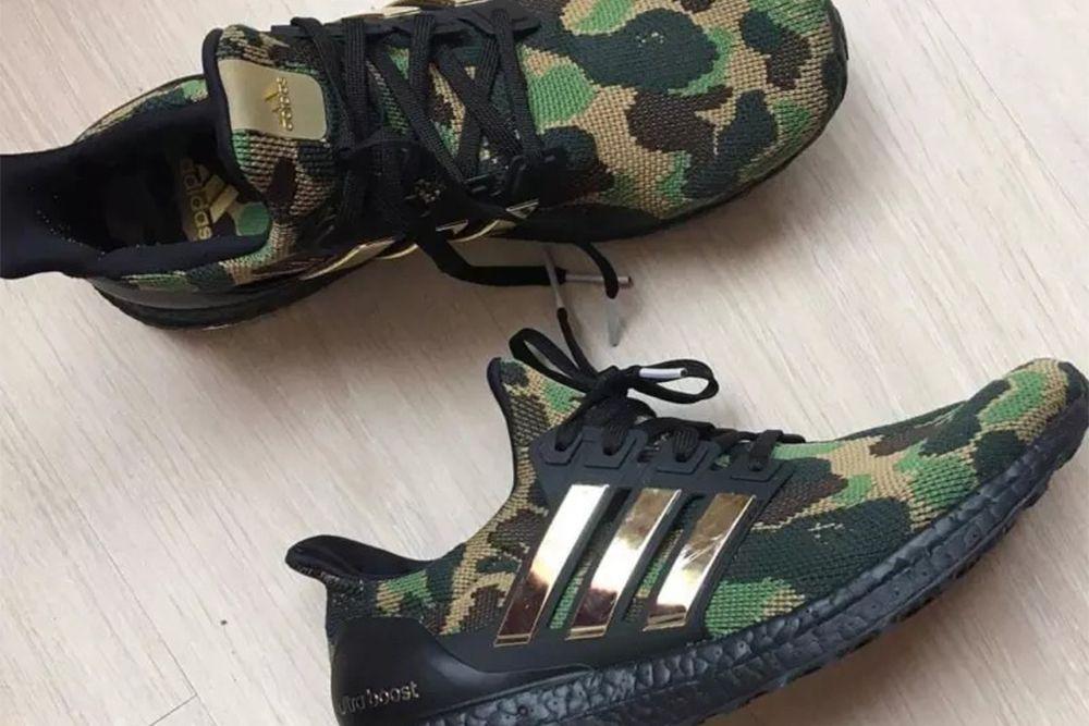 Czy Tak Beda Wygladaly Buty Bape X Adidas Ultra Boost Sneakers Men Fashion Sneakers Fashion Sneakers