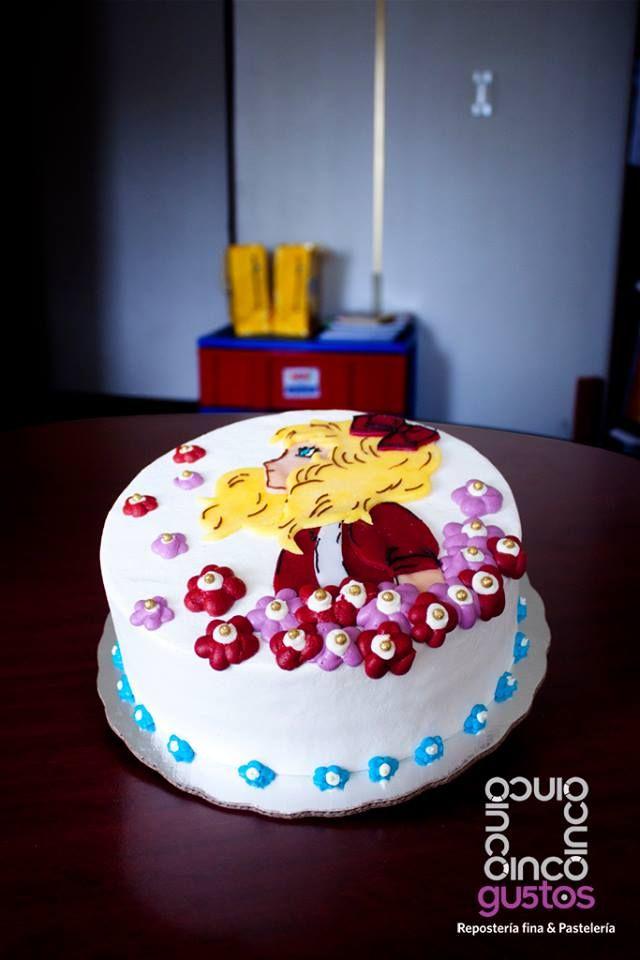 Pastel Candy Makeup Tutorial: Pastel Para Cumpleaños, Temática Candy Candy