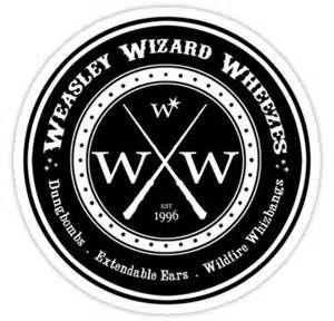 Weasley Wizard Wheezes Logo Bing Images Harry Potter