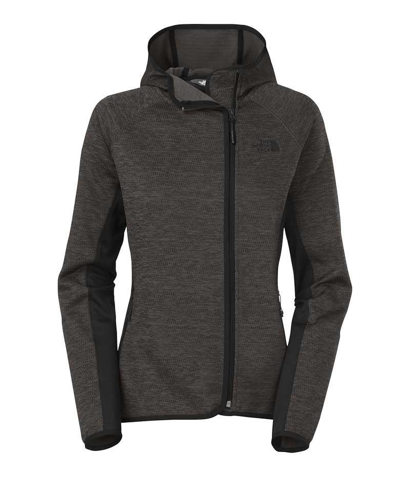 8fe77db6e1e The North Face Arcata Full Zip Hoodie for Women in TNF Dark Grey Heather  CUU0-FLC