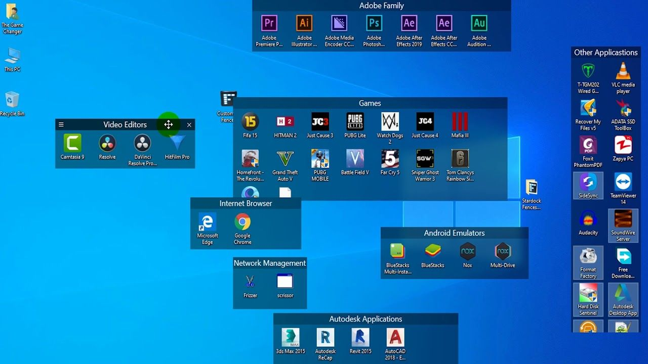 How To Organize Desktop Icons Windows 10 Desktop Organization Desktop Icons Windows 10