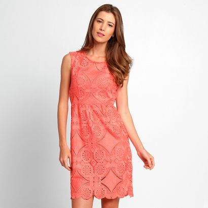 195962bebc Compre Vestido Delícia Renda Rosa na Zattini a nova loja de moda online da  Netshoes. Encontre Sapatos