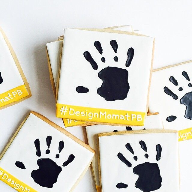 Celebrating her new book with our cookies in 4 cities @designmom @potterybarn #bakedideas