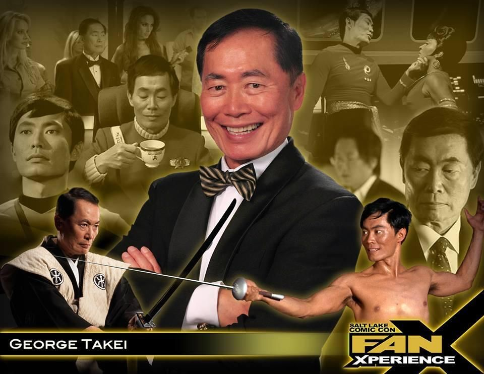 RSVP on Facebook for our pre-con event with #GeorgeTakei (click source link)! Friday, January 17, 5-10pm, and FREE to the public! #FanX ticket holders will get VIP access. Autographs $40 and Photographs $30. (*PIN to Win #FanX Pass*)