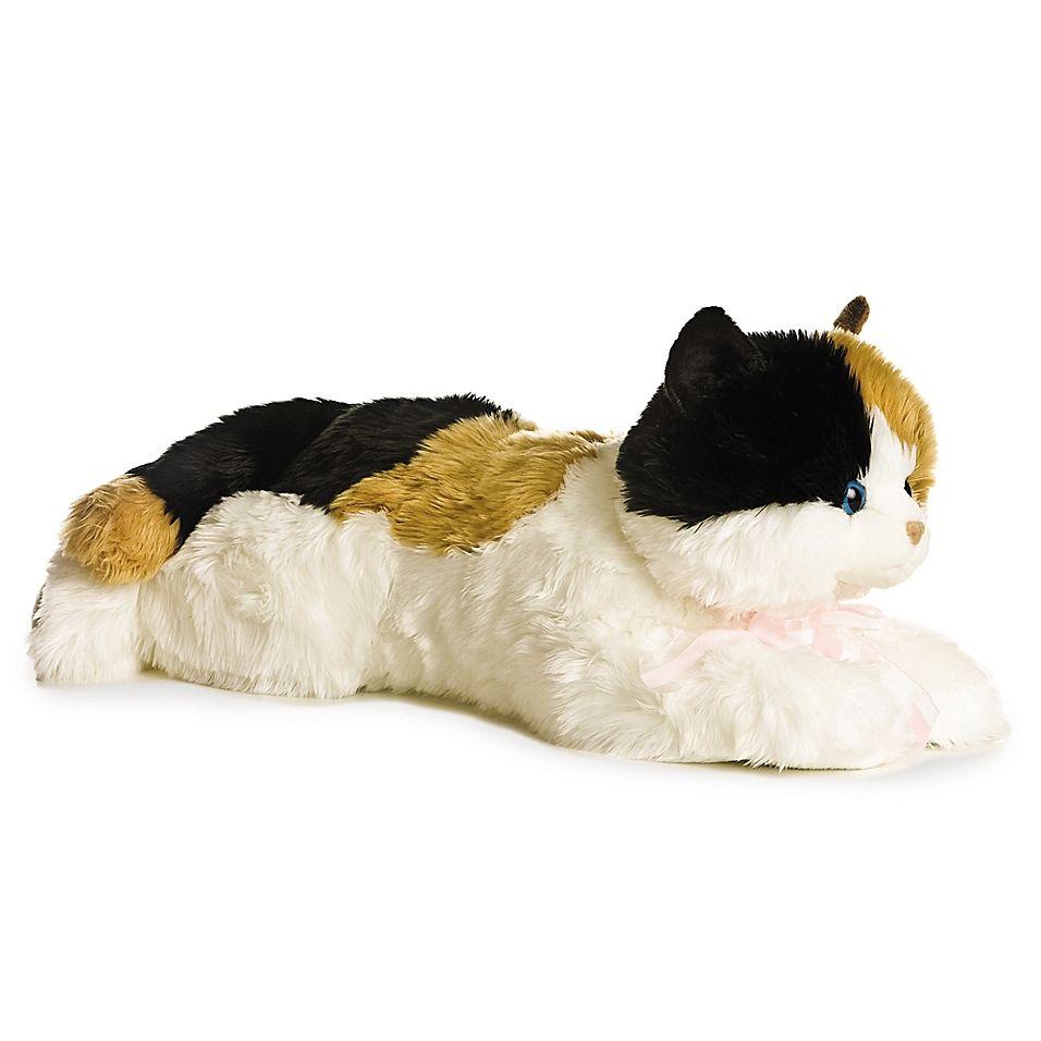 Aurora World Super Flopsies Super Esmeralda Kitten Plush Toy In 2020 Kitten Plush Toy Kitten Stuffed Animals Cat Plush