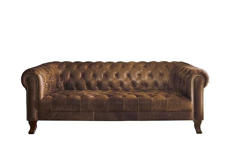 Remarkable New England Hampton 3 Seater Leather Sofa Alexander And Caraccident5 Cool Chair Designs And Ideas Caraccident5Info