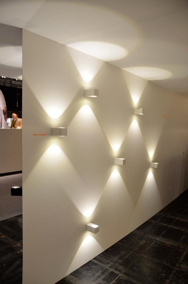 luzcalida #paredblanca #luzdeacento   Iluminación interior