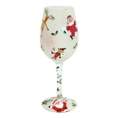 """Snow Angels"" 1) 3 oz Gin 2) 1 oz Apply Brandy 3) 1 Dash Hazelnut Liqueur 4) Fill w/ White Wine 5) Garnish w/ Cinnamon Stick"