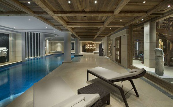 Luxurious chalet edelweiss in courchevel