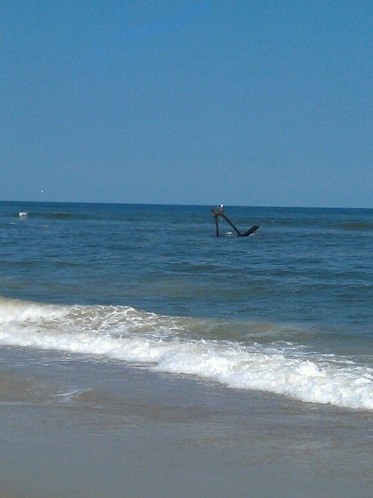 The Salvo Shipwreck, Salvo, NC. I actually HAVE been here ...